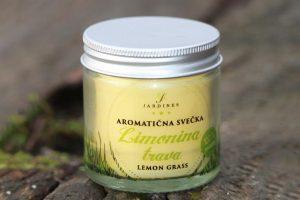 aromaticna svecka limonina trava